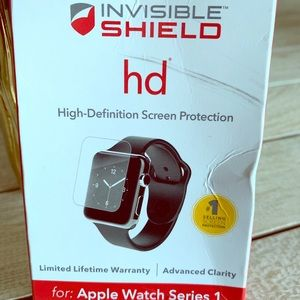 Invisible shield for smart watch